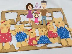 BI20    Gabarito Família Ursos Pequenos