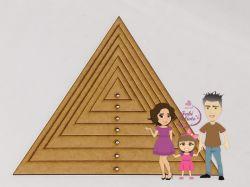 MOL21   Gabarito Moldura Triângulo