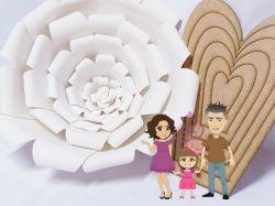 NAT04   Moldes Flor Gigante 01
