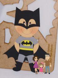 G553  Gabarito de Moldes em MDF Batman