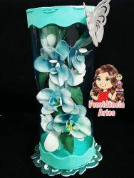 NAT18    Gabarito de Moldes em MDF Orquídea