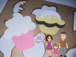 COZ23   Gabarito de Moldes em Cupcake 2