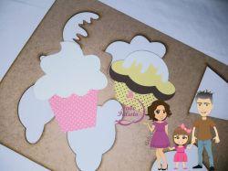 COZ02  Gabarito de Moldes em Cupcake 2