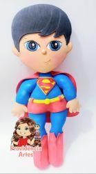 HER12   Coleção Heróis  Juliana Farias - Gabarito de Moldes em MDF Kit Super Man