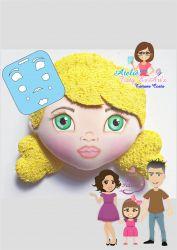 EX16  Marcador de Expressão Coleção Profissões - Meninas  2D Tatiane Costa