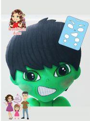 EX12  Marcador de Expressão Hulk