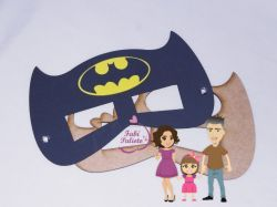 HER22   Gabarito de Moldes Mascara Batman