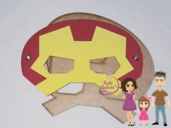 G559 Gabarito de Moldes Mascara Homem de Ferro