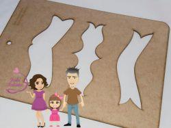 MOL31  Gabarito de moldes Plaquinhas 20cm