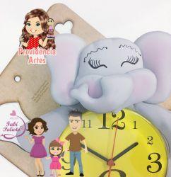 G619 Gabarito de moldes Kit Leão e Elefante -  Relógios Juliana Farias