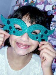 MAS01  Gabarito de Moldes Mascara Carnaval 1