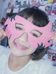 MAS02  Gabarito de Moldes Mascara Carnaval 2