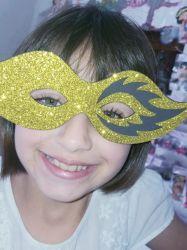 MAS03  Gabarito de Moldes Mascara Carnaval 3