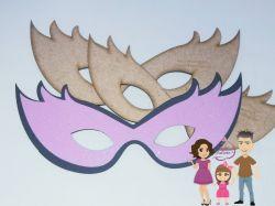 MAS05  Gabarito de Moldes Mascara Carnaval 5