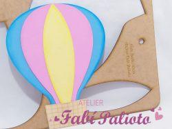 G450  Gabarito de moldes em MDF  Balão 25cm