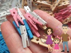 DI224 Mini grampinho de madeira (pregadores)