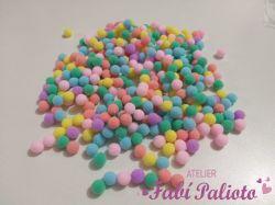 DI233 Mini Pompom 1cm - Candy Color